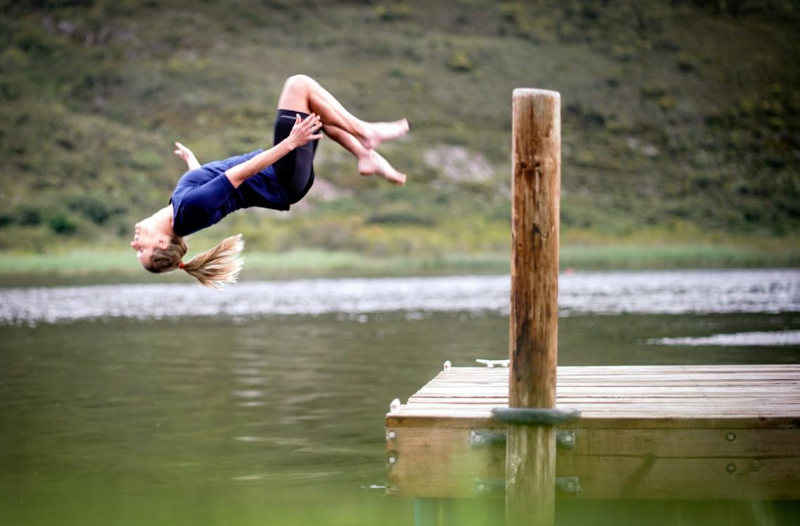 Fleur – from climbing trees to international stunt woman.